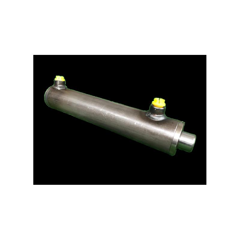 1pc 20 Millimetri Alesaggio 100 Millimetri Corsa Cilindro Pneumatico Doppio-Rod a Doppia Azione in Lega di Alluminio di Alta qualit/à Pneumatic Air Cylinder OKBY Fare Doppio Stelo del Cilindro
